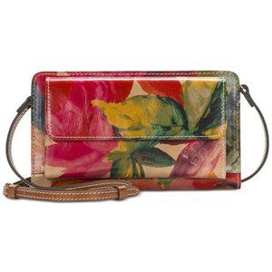 Patricia Nash Azario Smooth Leather Crossbody